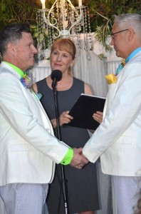 131000 Terri officiate James Veo and David Trumbo photo of their wedding in Silverlake 2