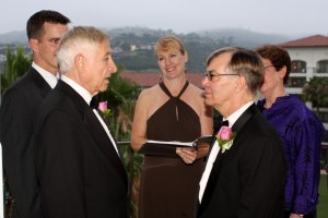 Orange County Gay Lesbian weddings The Regis Hotel Laguna Beach Terri Linzmeier officiant 2