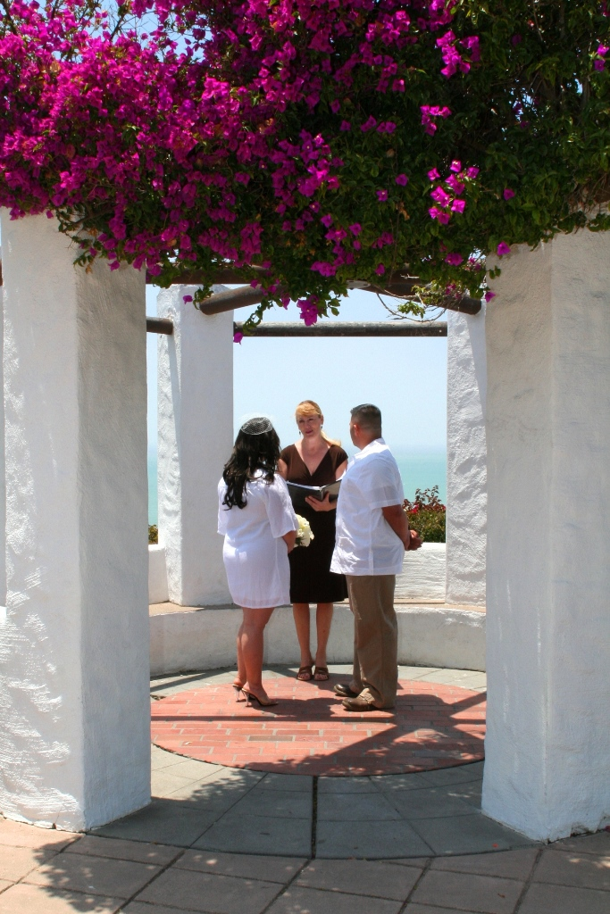 Orange County Wedding Ceremony At Palisades Gazebo In Dana Point Terri Linzmeier Minister 4