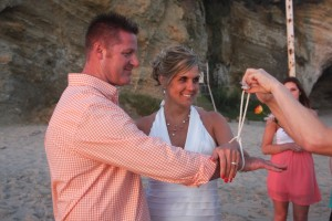 tie the knot at Table Rock beach