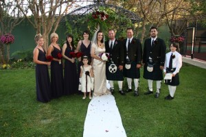 080700 Amy and Mike McNeil wedding with bagpiper (2)