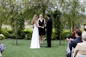 110514 Terri officiate Ashley and George at Faulkner Vineyard Temecula 2