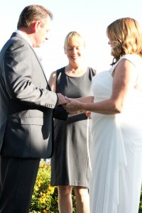 140500 Terri officiate Michelle and Bob Wedding at Heritage Park