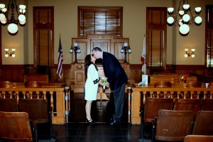 Greg and Michelle at Old County Courthouse photos by TeRRRi