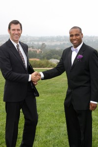 Mark Linzmeier Wedding Officiant at Newport Coast Wedding