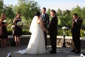 Mark officiate Menifee wedding of Breanna and Michael - photography by Terri Lange Linzmeier