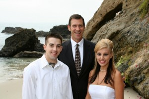 Mark officiate wedding in Laguna Beach on the sand (2)