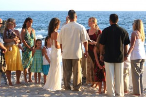 Orange County California Laguna Beach wedding on the sand Terri Linzmeier officiant