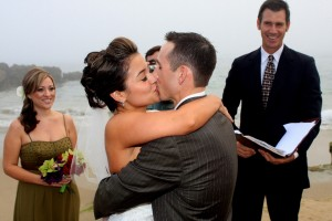 Orange County Laguna Beach wedding crescent bay Mark Linzmeier officiant www.WeddingsbyTerri.com