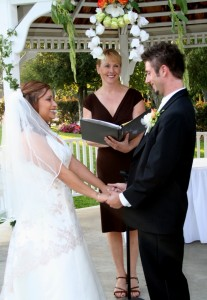 Orange County Weddings by Terri - Officiating at Irvine Club at UCI