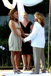 Orange Los Angeles County same sex gay lesbian weddings Terri Linzmeier officiant