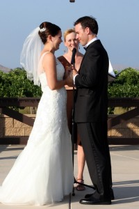 Orange Riverside County Wedding at winery in Temecula Terri Linzmeier minister 2