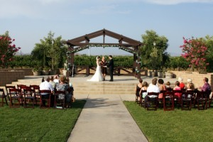 Orange Riverside County Wedding at winery in Temecula Terri Linzmeier minister