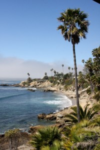 View from Heisler Park Gazebo in Laguna Beach photography by Terri Lange Linzmeier
