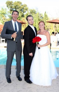 www .WeddingsbyTerri.com Mark Linzmeier officiating Callie and Vito Wedding in Temecula